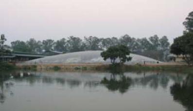 บ่อแบบ Covered lagoon