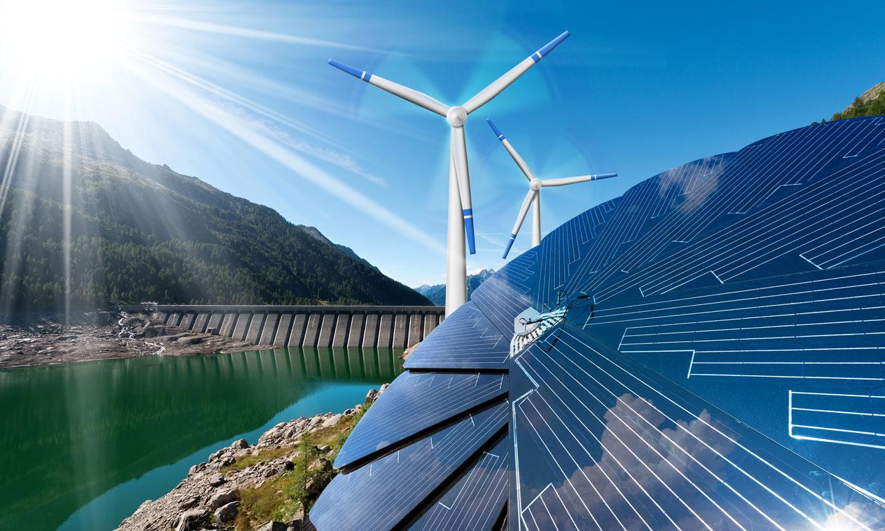 พลังงานทดแทนโดยทั่วไปหมายถึงพลังงานที่มีอยู่ทั่วไปตามธรรมชาติและสามารถมีทดแทนได้อย่างไม่จำกัด (เมื่อเทียบกับพลังงานหลักในปัจจุบัน เช่น น้ำมันหรือถ่านหิน)